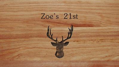 03.07 Zoe's 21st Birthday