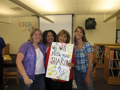 Sharon Watford Retirement 9 June 2010
