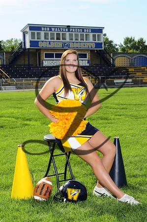 Cheer (2 groups) Fall 2012