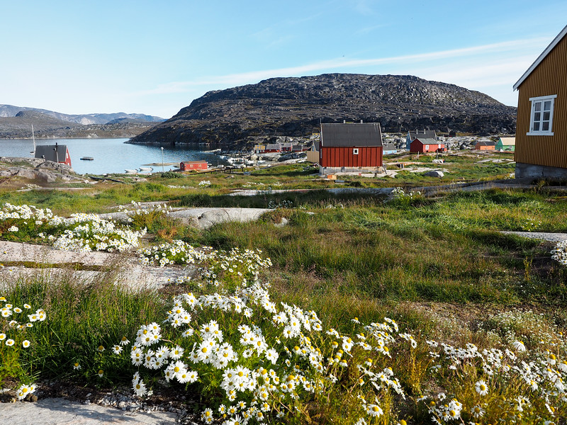 Settlement of Oqaatsut, Greenland