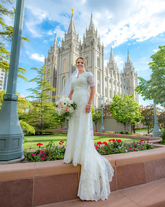 Kristen and Justin Temple Square