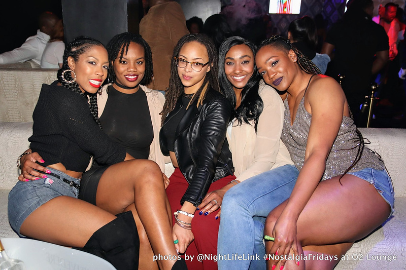 Nostalgia Fridays @ O2 Lounge 3/30/18