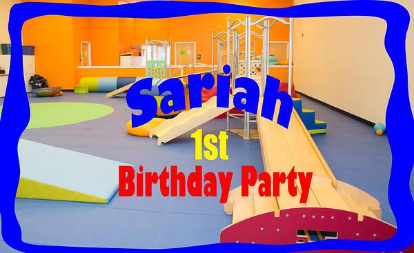 Sariah 1st bday (2015)