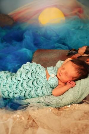 Borren newborn mermaid