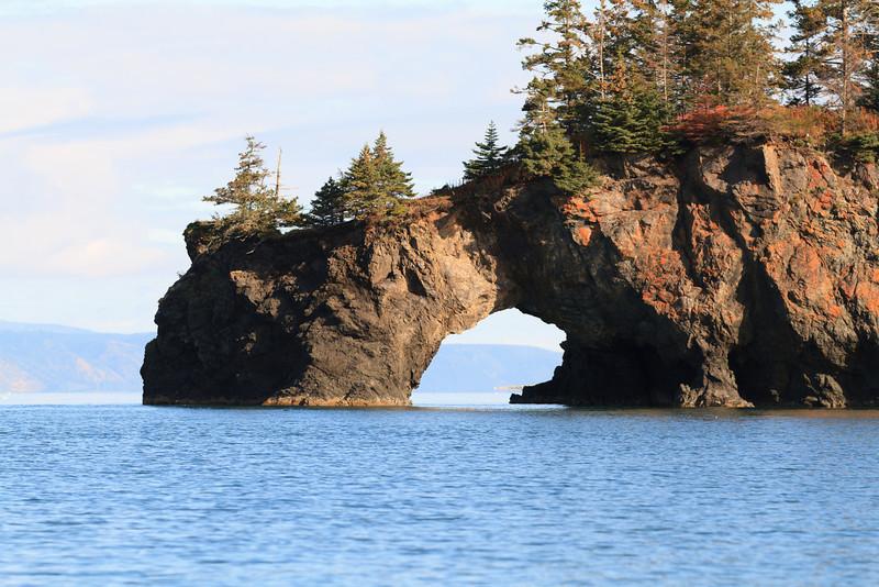 Arch on Kachemak Bay