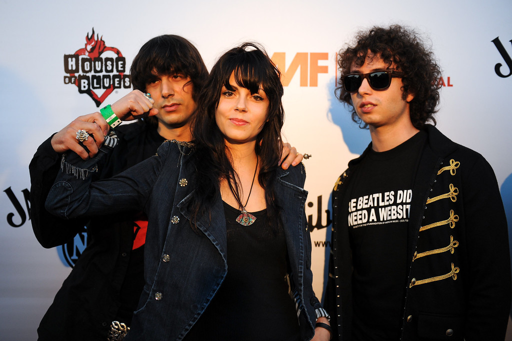 . The Last Internationale on the red carpet at the House of Blues as part of the Sunset Strip Music Festival, Thursday, August 1, 2013. (Michael Owen Baker/L.A. Daily News)