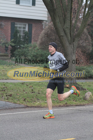 10K at 5.5 mile mark - 2012 Jingle Bell Run Bloomfield