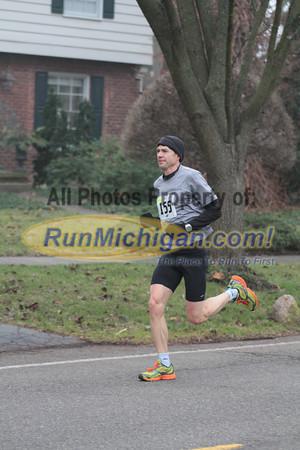 10K at 5.5 mile mark - 2012 Jingle Bell Run Bloomfield