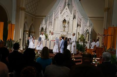 Alanna First Communion