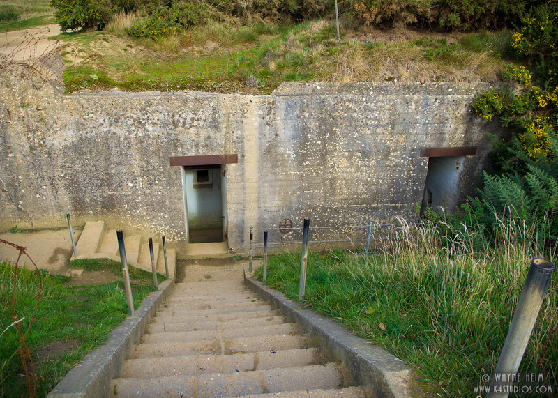 Normandy Bunker  3    Photography by Wayne Heim