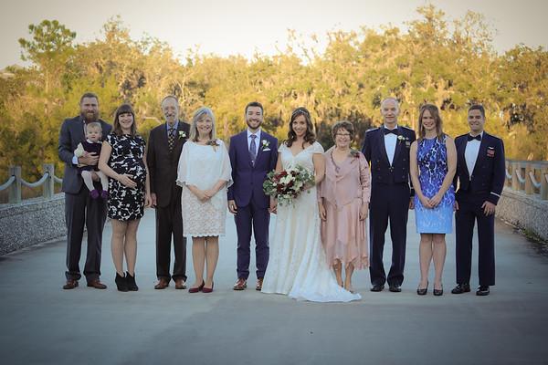 Zack and Maggie's Wedding Party & Family Portraits, Oyster Bay Yacht Club, Fernandina Beach, Florida
