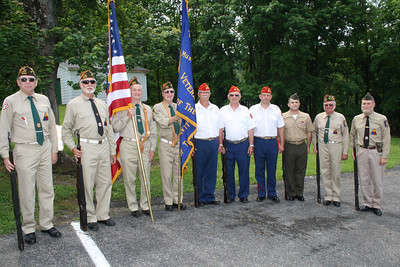 Memorial Service, Firing, West Penn (5-27-2012)
