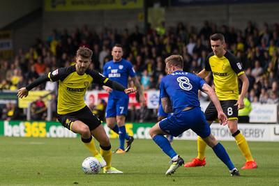 Burton Albion v Cardiff City (05.08.2017)
