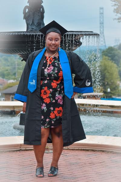 Irene's Ga State Graduation Pics
