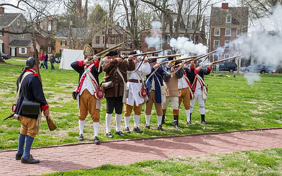 Brew Dogs  meets the 1st Delaware Regiment  4-18-14