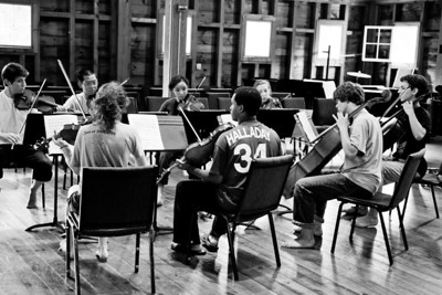 Saturday August 6th,2011 afternoon before the First Chamber Concert