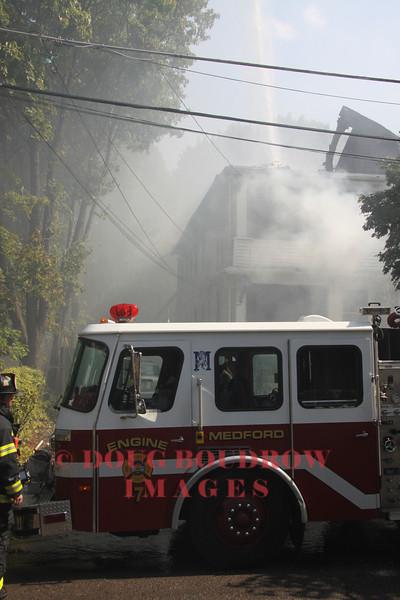 Medford, MA - 3rd Alarm, 22 Sharon Street, 8-19-10
