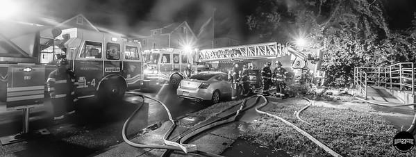 Structure Fire - 123 Martin St, Hartford, CT - 7/12/19