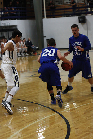 KHS BOYS VS BRIDGE CREEK 2/22/14