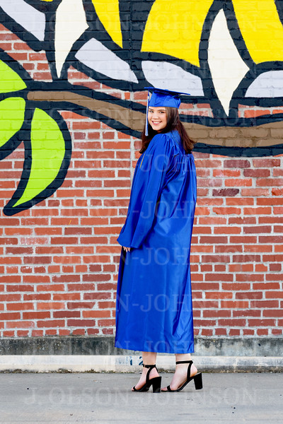 MADISEN CAP AND GOWN, 2019