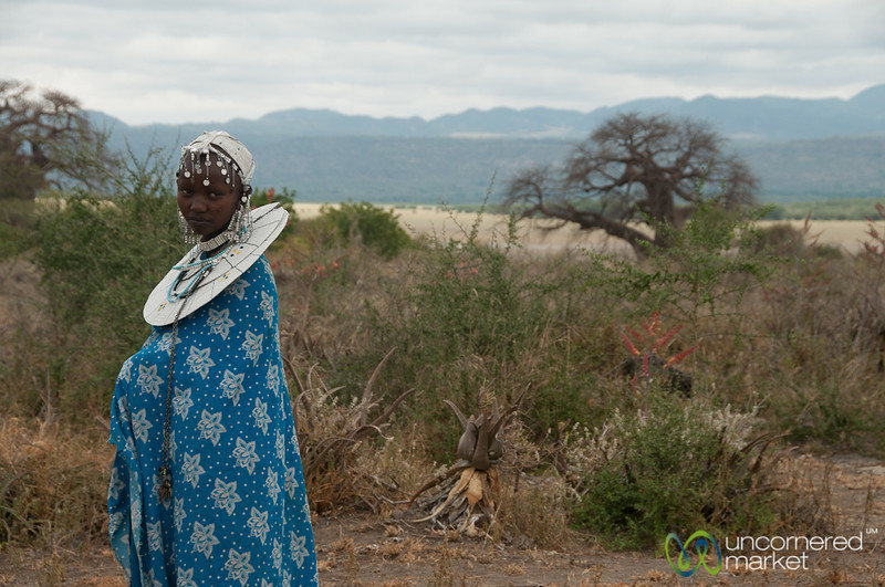Young Masai Woman - Lake Manyara, Tanzania