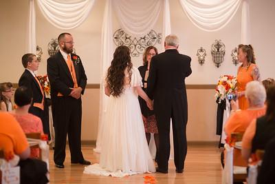 Exchanging Rings & Vows