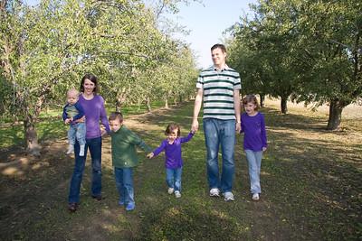 Julie, Greg & family Nov. 2011