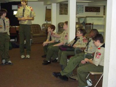 Troop Meeting - Nov 8