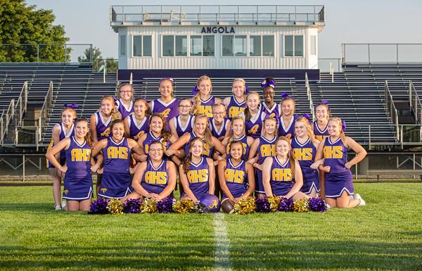2018 Fall Cheer Team
