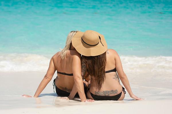 Layla & Heather | Maternity Session | Exuma, Bahamas