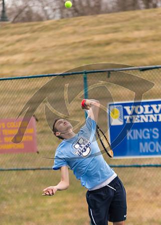 Wilkes Mens Tennis at Kings
