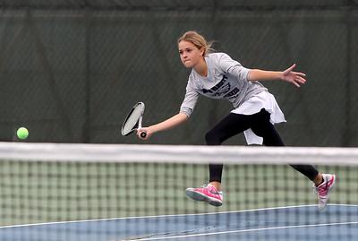 Girls Tennis District tournament