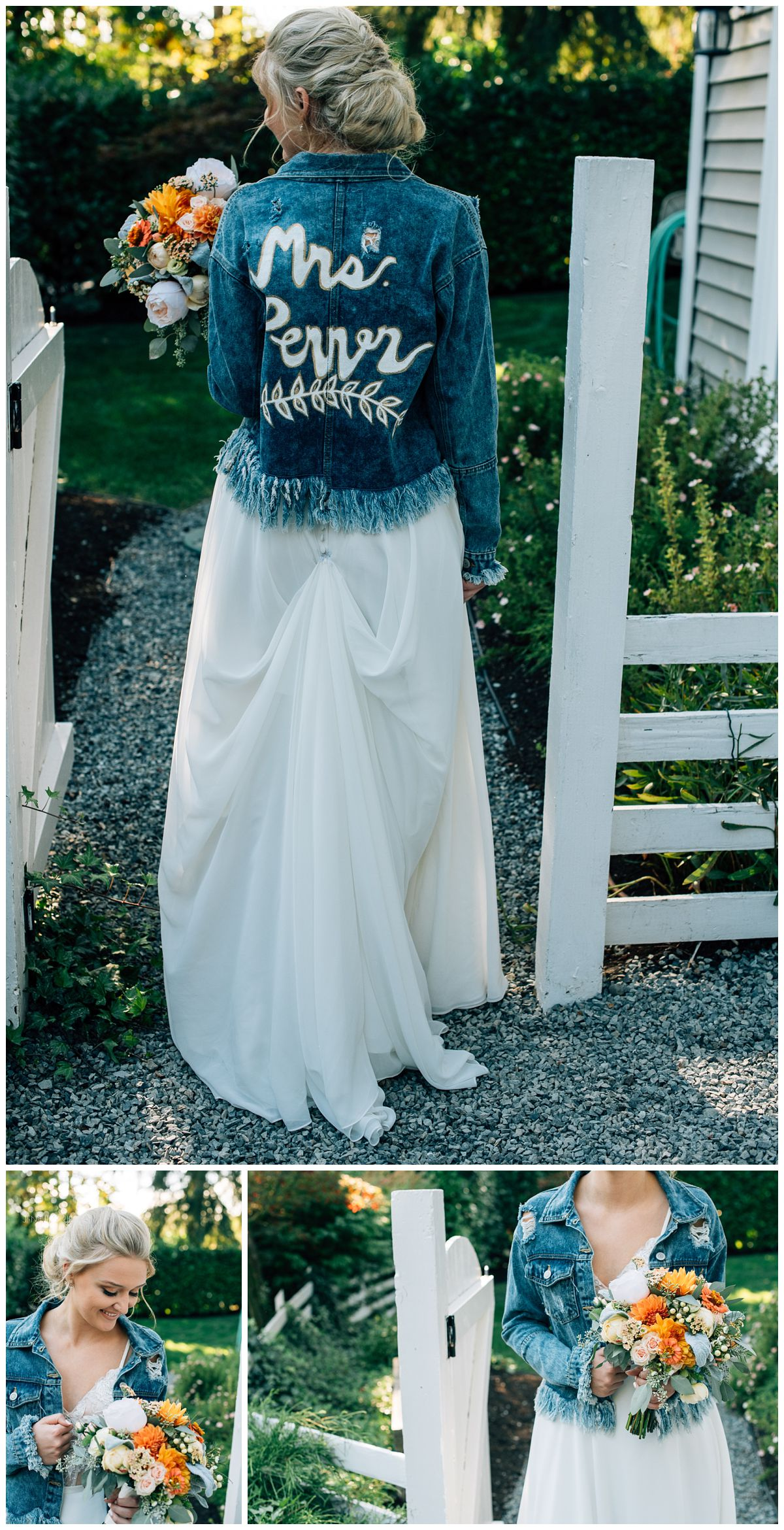 wedding day jean jacket