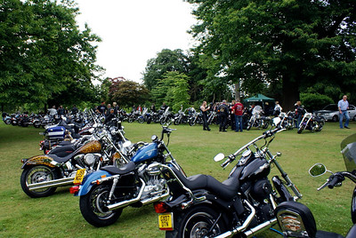 Harleys at Petworth, 17 Jun 2007