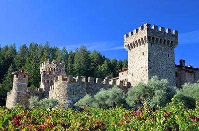 Castle Di Amorosa/Napa Valley/CA - October, 2013