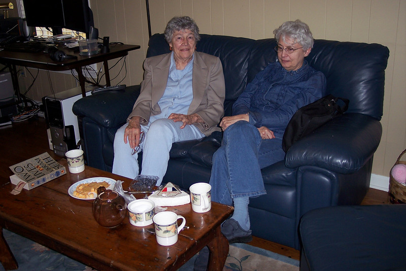 Marion and Jacquie - Spring 2008.JPG
