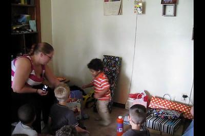 Josiah Birthday video