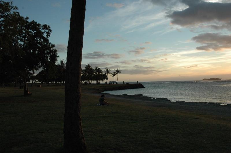 Hawaii - Ala Moana Beach Sunset-24.JPG