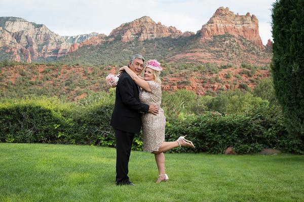 Michelle and Don's Sedona Wedding