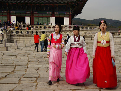 Gyeongbokgung Seoul Korea