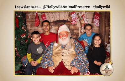 Hollywild Santa Photos - 112919