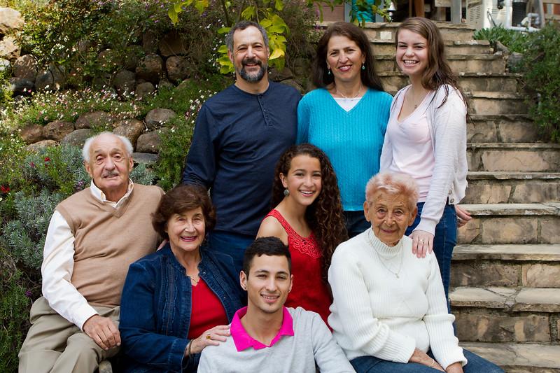 Portrait: Bodony Family