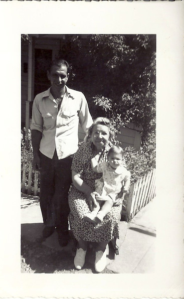 Norman, Edna and Helen Carl 1948