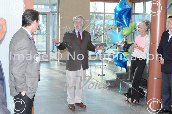 Aurora Regional Chamber of Commerce Ribbon Cutting at Cadence Health in Aurora, Ill 10-7-13