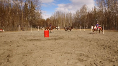 BECK BARREL RACING CLINIC - SADDLE UP AREA