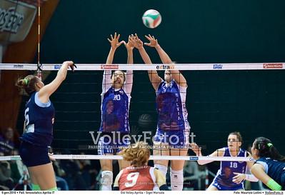 Giò Volley Aprilia - Sigel Pallavolo Marsala   11ª #B1F