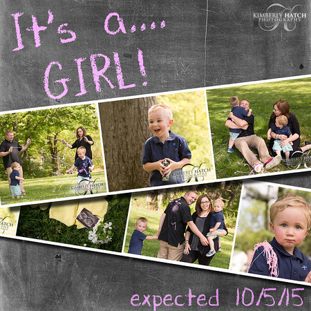 5/15/15 Carboneau Family Baby Reveal!