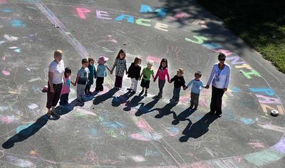 CHALK4PEACE Wilmington Montessori School, DE
