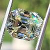 4.71ct Antique Asscher Cut Diamond GIA WX VS2 36