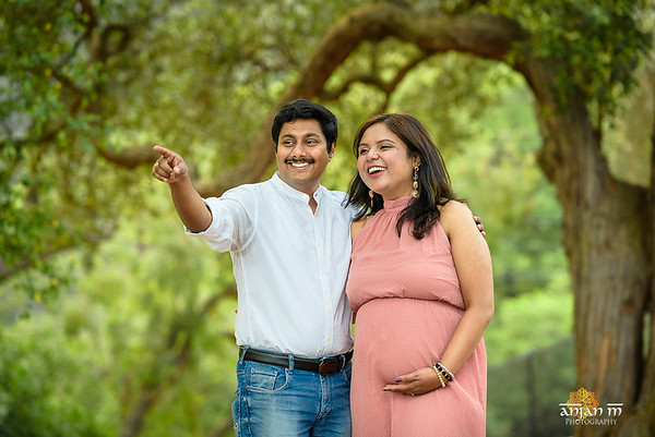 Suchandra Ritam Maternity Shoot